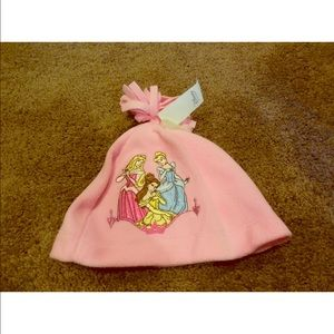Disney princess pink hat sz L